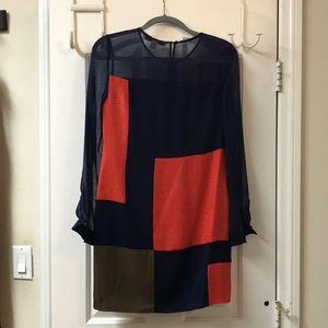 DVF Raegan Colorblock  Dress